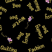Black-bee-words