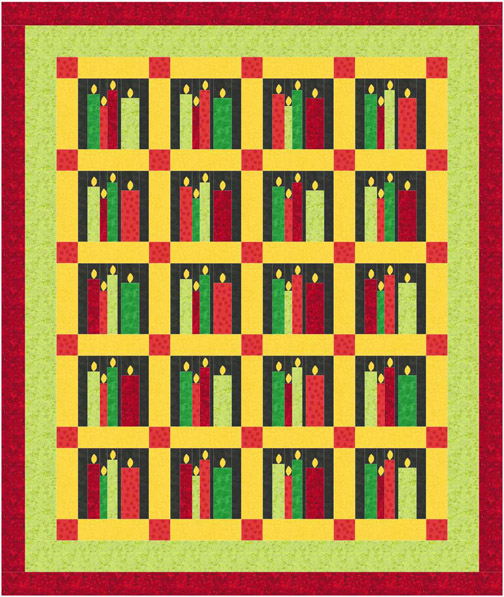 QD02_Christmas_Candle_Quilt