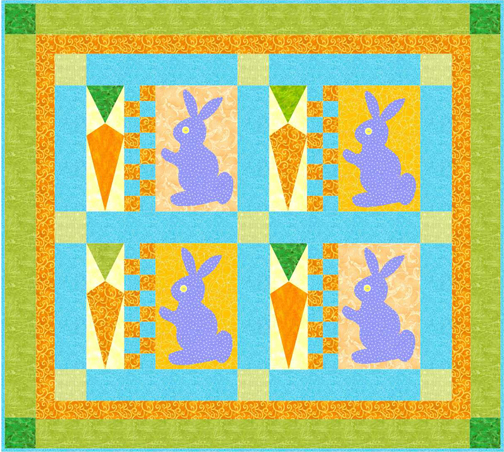 QD28 Cottontails Quilt