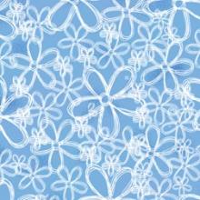 White-flower-blue-toss