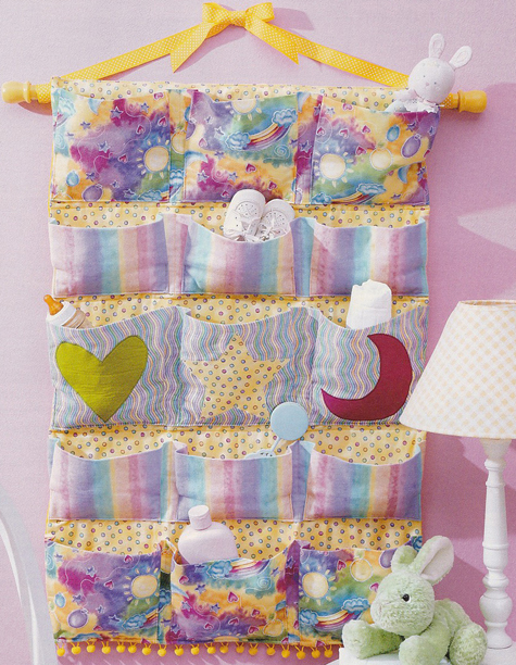 PDS09 Baby Nursery Wall Pockets