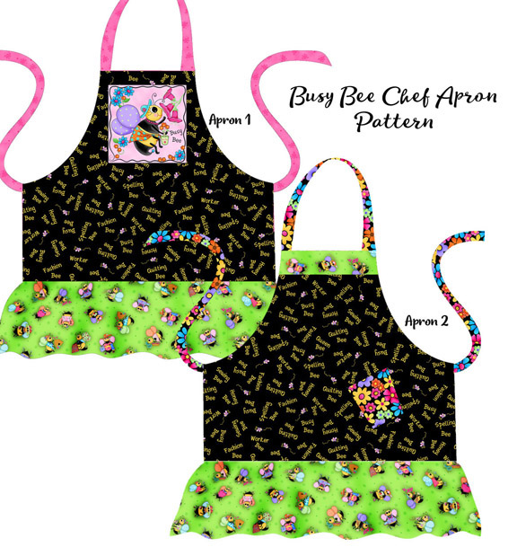 PS04 Busy Bee Chef Apron