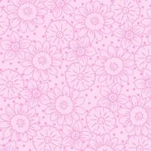 Pink-floral-tonal