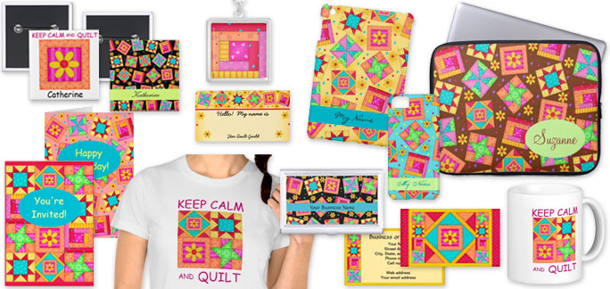 Quilt art on products